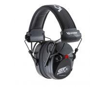Pyramex Black Electronic Hearing Protection w/AUX Jack NRR 26dB